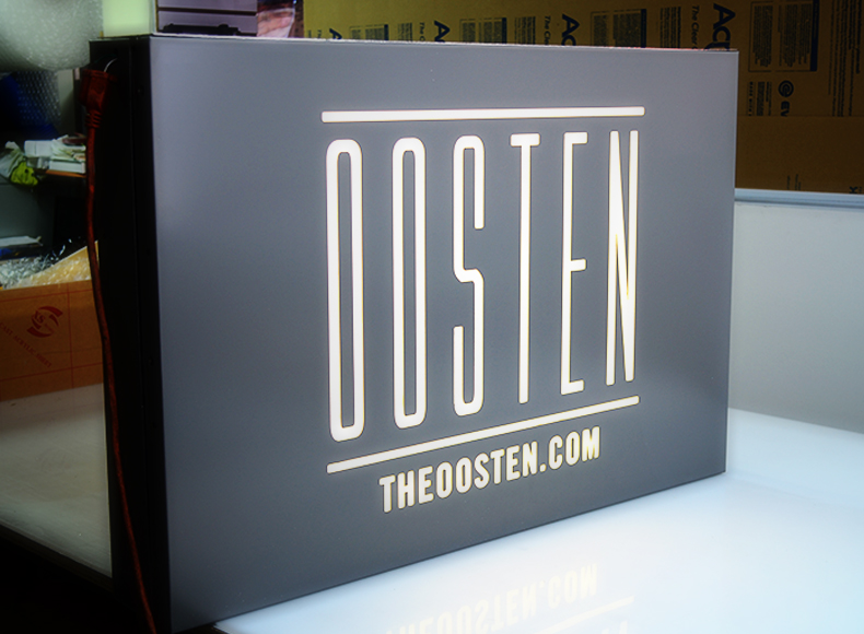 Lightbox Signs Nyc Oosten
